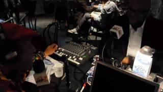 Ruben Studdard with Super Snake at American Idol
