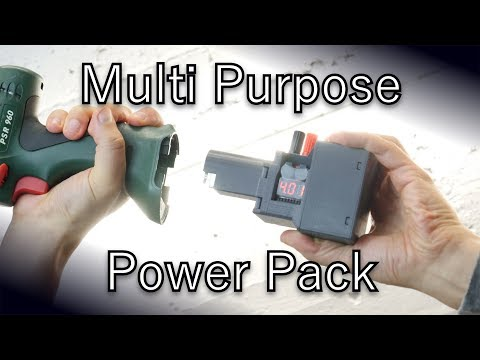 How to make a Lithium Ion Power Pack