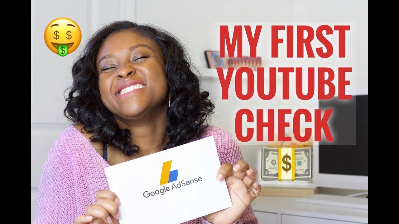 My First Youtube Paycheck!! How Much I Made