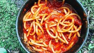 Spaghetti  Backpack Camp Meal Recipe