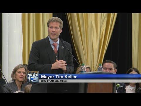 Tim Keller sworn in as Albuquerque's new mayor