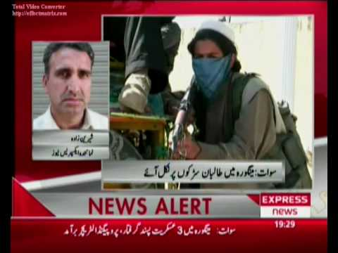 May 03, 2009 Swat Taliban in Mingor City Swat Valle Pakistan Sherin Zada Express News Swat Travel Video