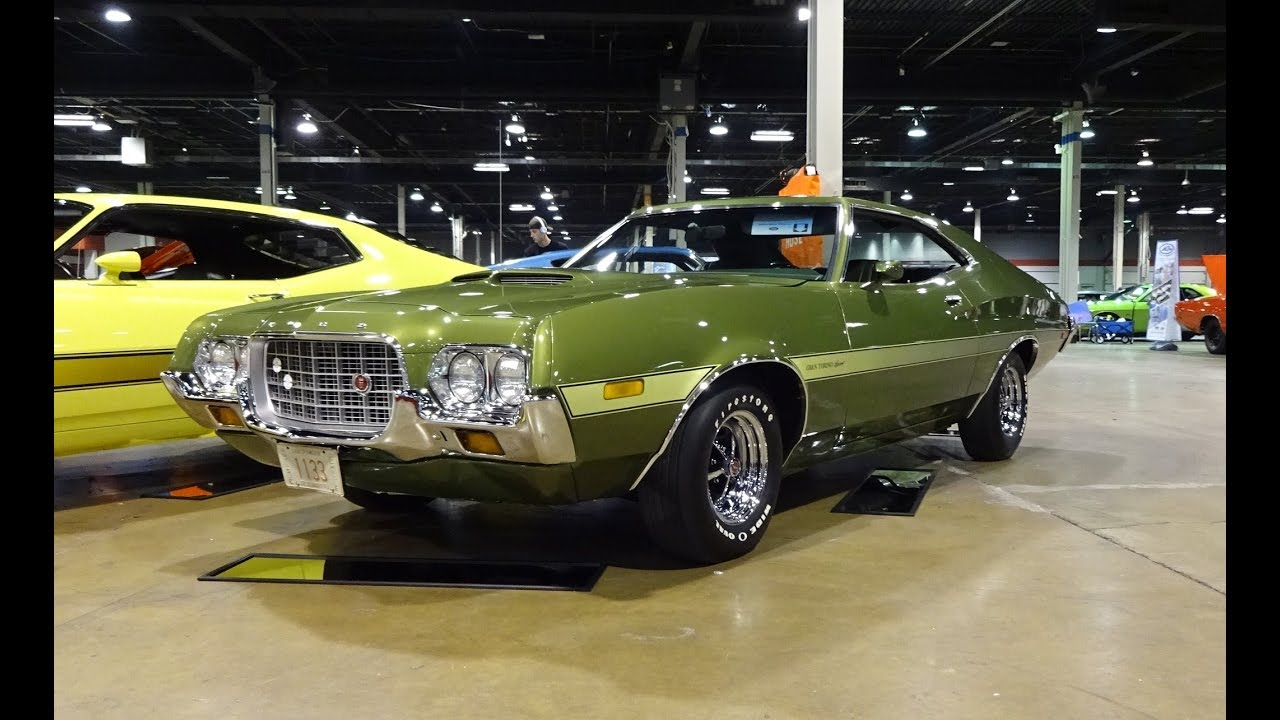 1972 Ford Gran Torino Sport In Green Paint Amp 351 Engine