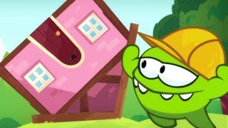 Om Nom Stories THE BUILDER | Cut The Rope: NEW SEASON 7 DREAM JOB| Funny Cartoons for Children