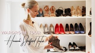 Designer Fashion Wardrobe Tour 2017