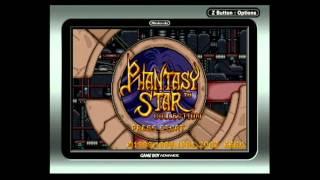 Phantasy Star Collection Theme