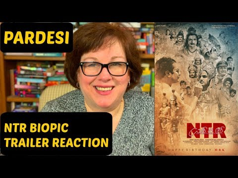 NTR Biopic Trailer Reaction
