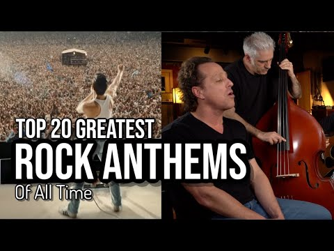 TOP 20 ROCK ANTHEMS OF ALL TIME