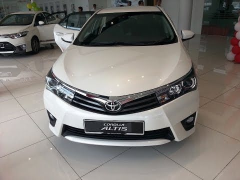 The New 2014 Toyota Altis Launched Malaysia Interior Exterior Walk Around
