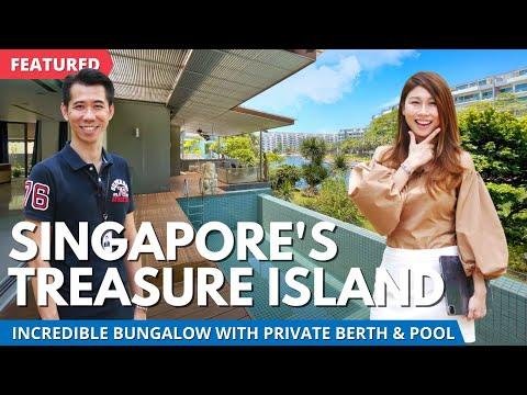 Waterfront Bungalow on Singapore's Treasure Island | Sentosa Cove