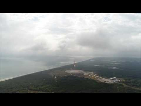 Space X CRS-10 | Falcon 9 First Stage Landing