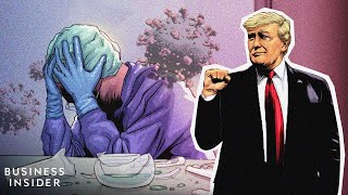 How Trump Lost Control Of The Coronavirus Pandemic, Told As A Motion Comic