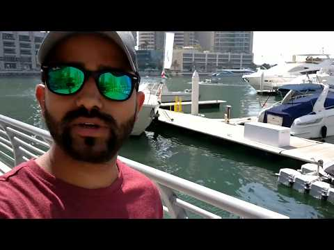 Dubai Marina ,walk Around Marina UAE tour twist tower view