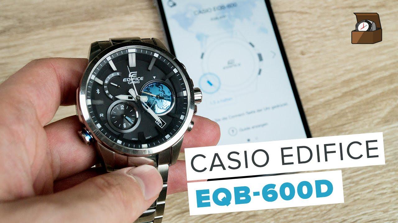 Edifice EQB 600 5466 Uhrzeit Einstellen