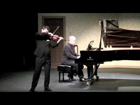 Bloch Nigun - Wolfgang David, violin