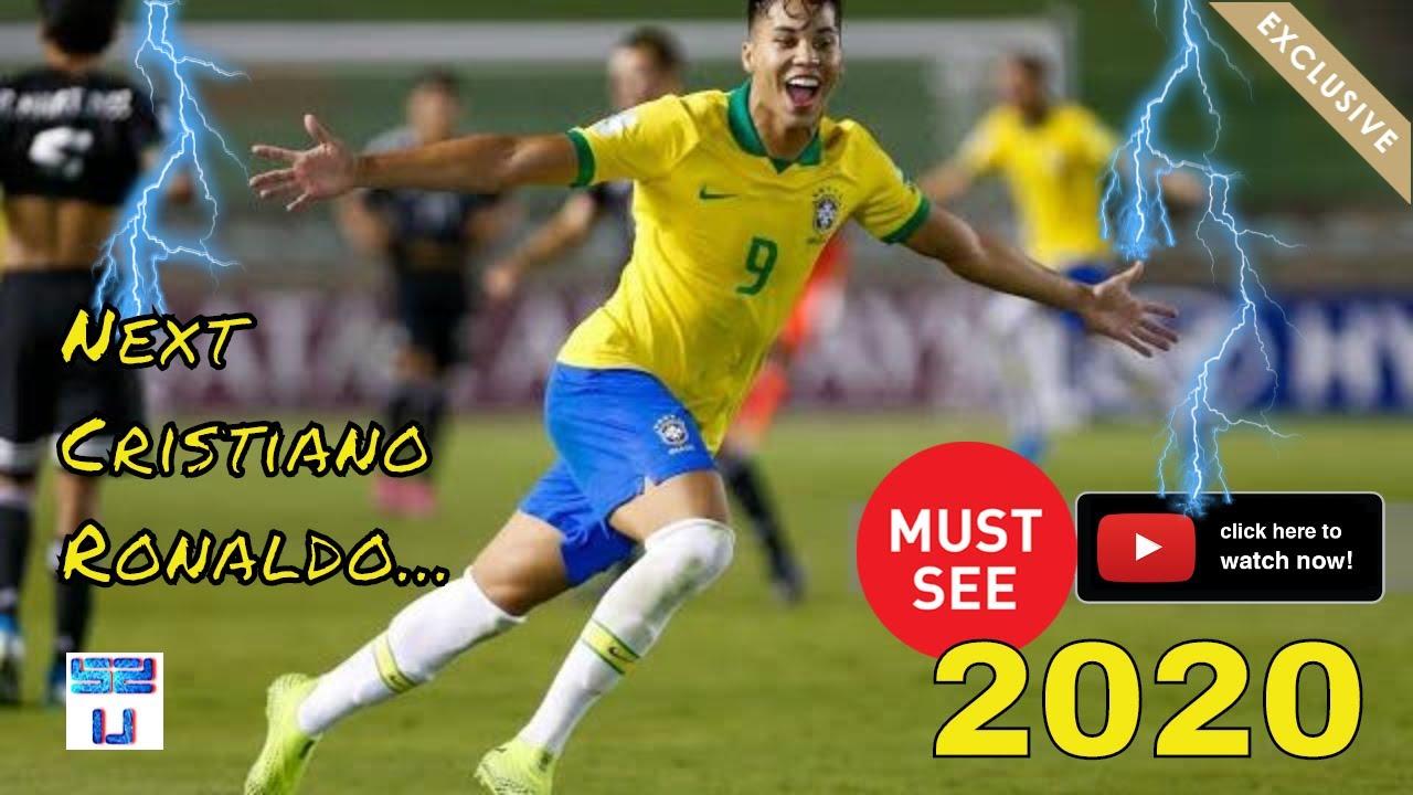 "Download Kaio Jorge 2020 ● The Future of Brazil ""next Cristiano Ronaldo"" ● Goals & Skills 🇧🇷"