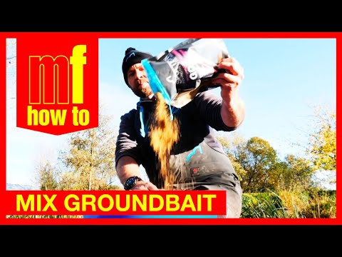 How To Mix Groundbait -  Match Fishing