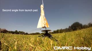 Model Rocket Launch Fail and EXPLOSION!