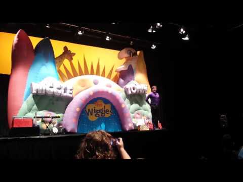 The Wiggles Town Tour - Hamilton NZ - 17 July 2016