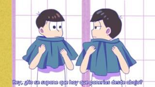 【Osomatsu-san】Los chicos de secundaria y las faldas【Sub español】