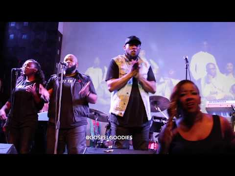 Anthony Brown Performs With Deon Kipping & Le'Andria Johnson at SOBs in NYC