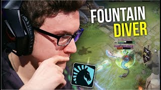 FOUNTAIN DIVER - Miracle Sven 1st Battle After Win TI7 Diving Fountain | Dota 2