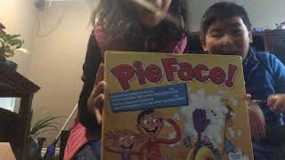 Playing the game pie face it was funny and kinda dirty by pineapple pie YT Girl