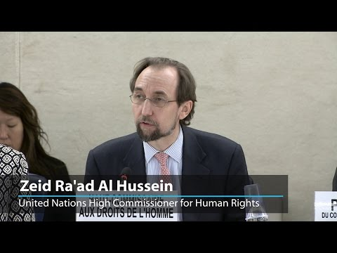 "High Commissioner for Human Rights ""deeply"" concerned about human rights violations in South Sudan"