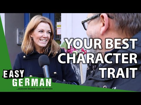 Asking Germans What's Their Best Character Trait | Easy German 323