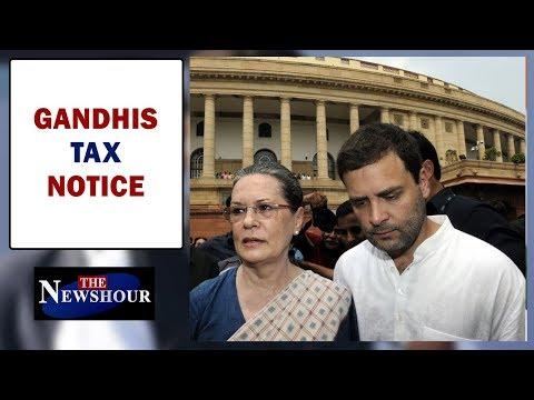 Gandhis face tax scrutiny, Congress insists 'assessment error' | The Newshour Debate (9th Jan)