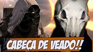Destiny Capacete exótico CABEÇA DE VEADO, essa semana no XUR