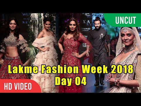 Lakme Fashion Week 2018 Day 04 | FULL SHOW | Sushmita Sen, Disha, Saif Ali Khan, Bipasha, Tamannaa