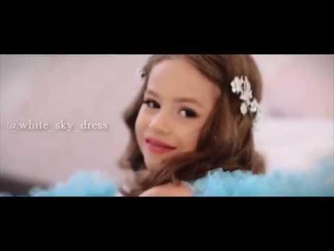 Детские бальные платья White Sky Dress