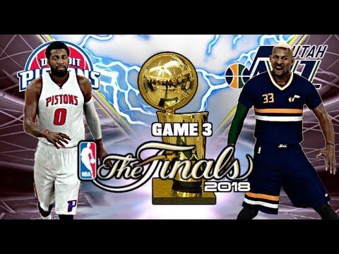 NBA 2K17 Ma Carrière (Saison 2) Ep.28 FINALS NBA 2018 GAME ...
