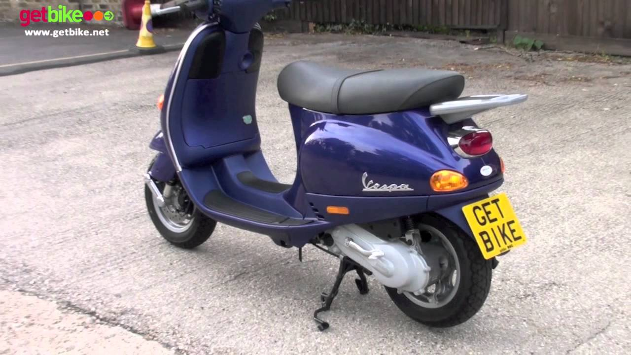 vespa et2 50 walk around by getbike new youtube. Black Bedroom Furniture Sets. Home Design Ideas