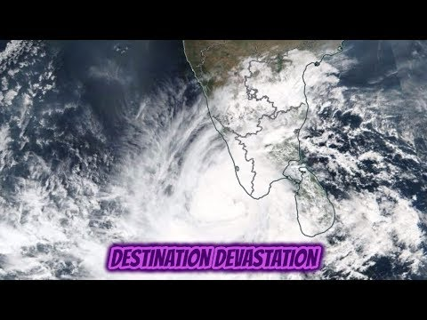 270 missing as Tropical Cyclone Ockhi forms south of India! Heavy rains.