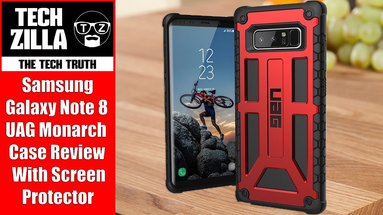 separation shoes 0b05a e7ca7 Samsung Galaxy Note 8 UAG Monarch Case Review (4K)