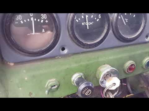 Замена датчика давления масла УАЗ 3303 Replacing The Oil Pressure Sensor UAZ 3303