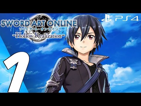 Sword Art Online Hollow Realization (PS4) - Gameplay Walkthrough Part 1 - Prologue