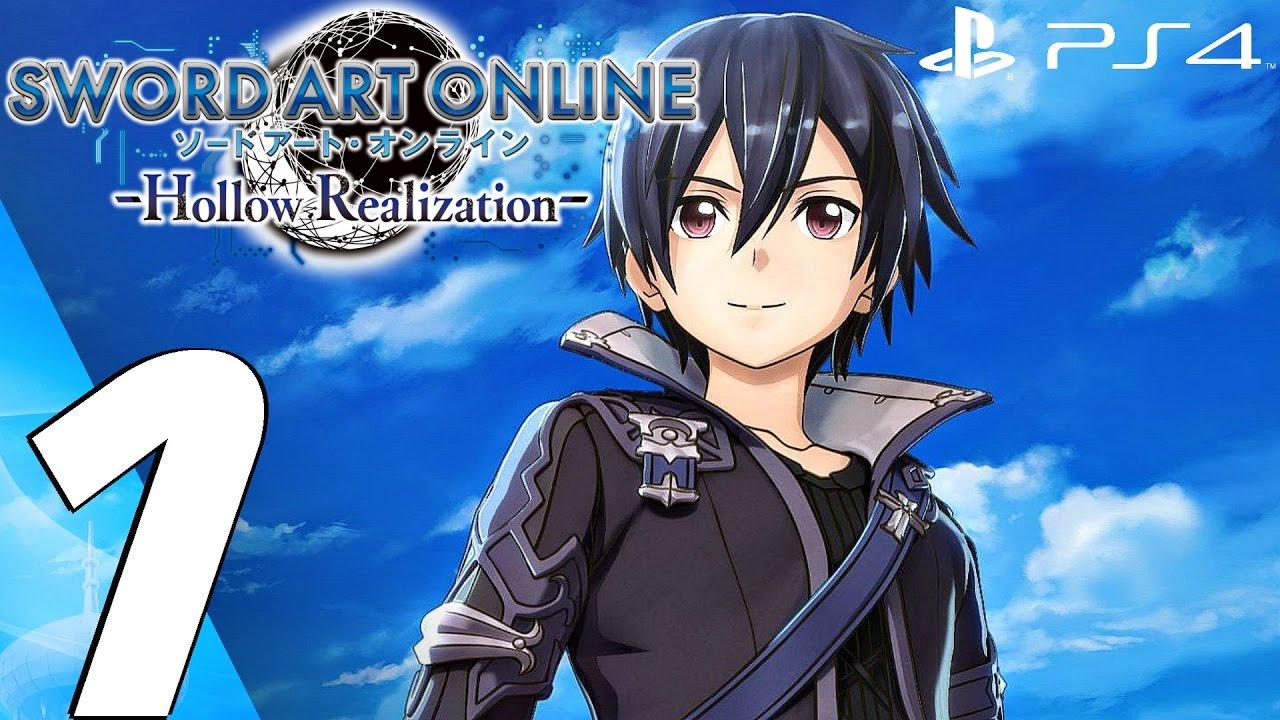 Sword Art Online Hollow Realization (PS4) - Gameplay Walkthrough Part 1 - Prologue