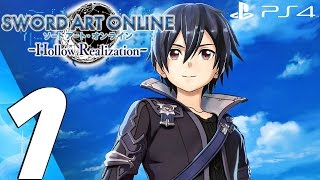 Repeat youtube video Sword Art Online Hollow Realization (PS4) - Gameplay Walkthrough Part 1 - Prologue