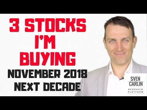 3 stocks to buy November 2018 - Contrarian stock picks