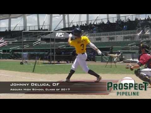 Johnny Deluca, OF, Agoura High School, Swing Mechanics at 200 FPS