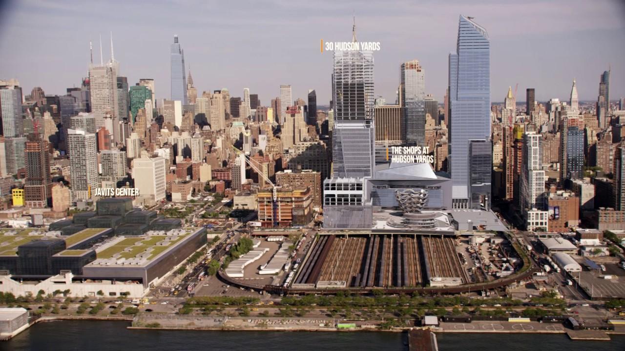 AECOM Tishman Builds the NYC Skyline - YouTube