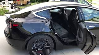 Tesla Model 3 Child car seat review