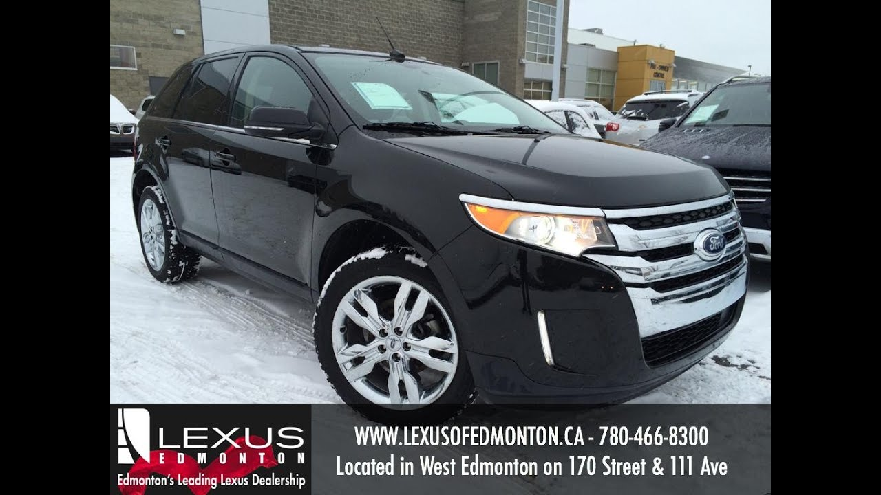 used black 2013 ford edge limited awd review penhold alberta youtube. Black Bedroom Furniture Sets. Home Design Ideas