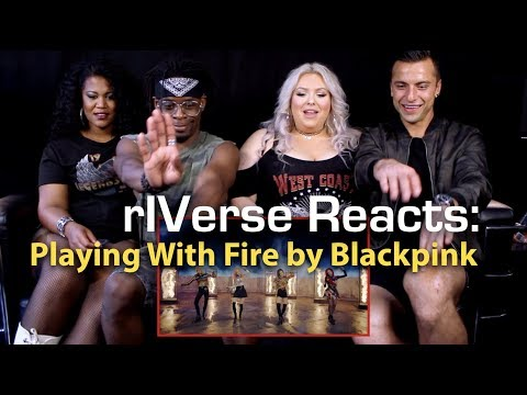 rIVerse Reacts: Playing With Fire by Blackpink - MV Reaction