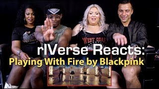 rIVerse Reacts: Playing With Fire by Blackpink - M/V Reaction