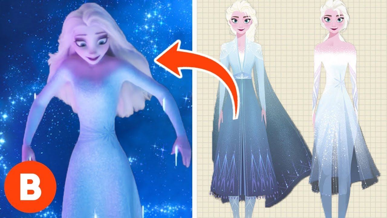 Frozen 2 What The New Outfits Really Mean