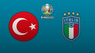 PES 2021 UEFA Euro 2020 Group A Turkey Italy